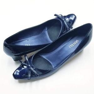 Vaneli Patient Leather Heels